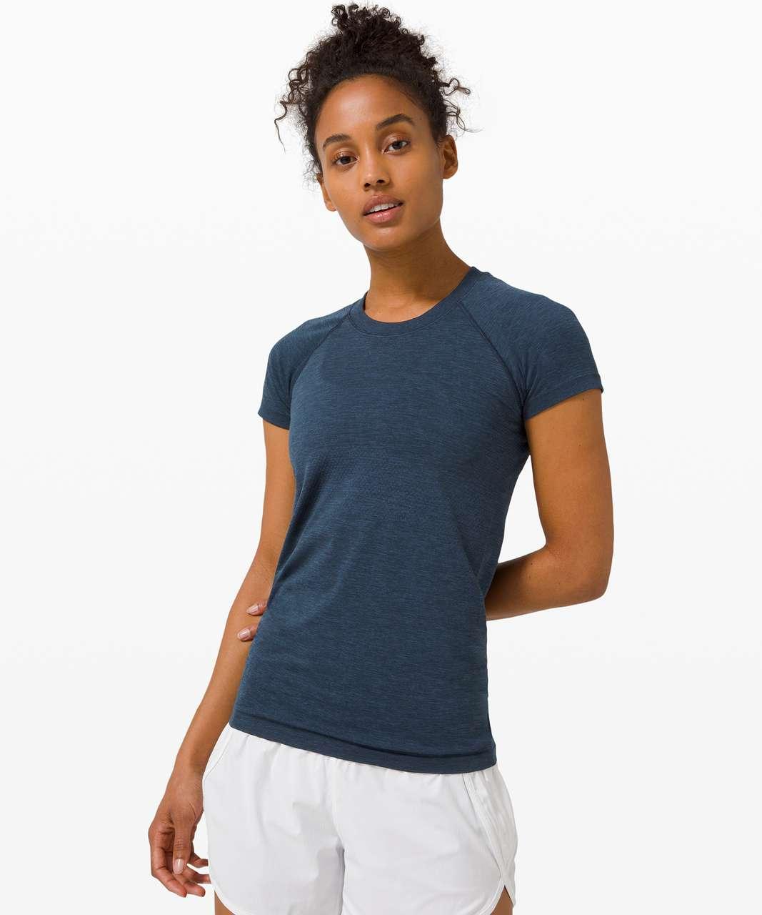 Lululemon Swiftly Tech Short Sleeve 2.0 - Ink Blue / True Navy