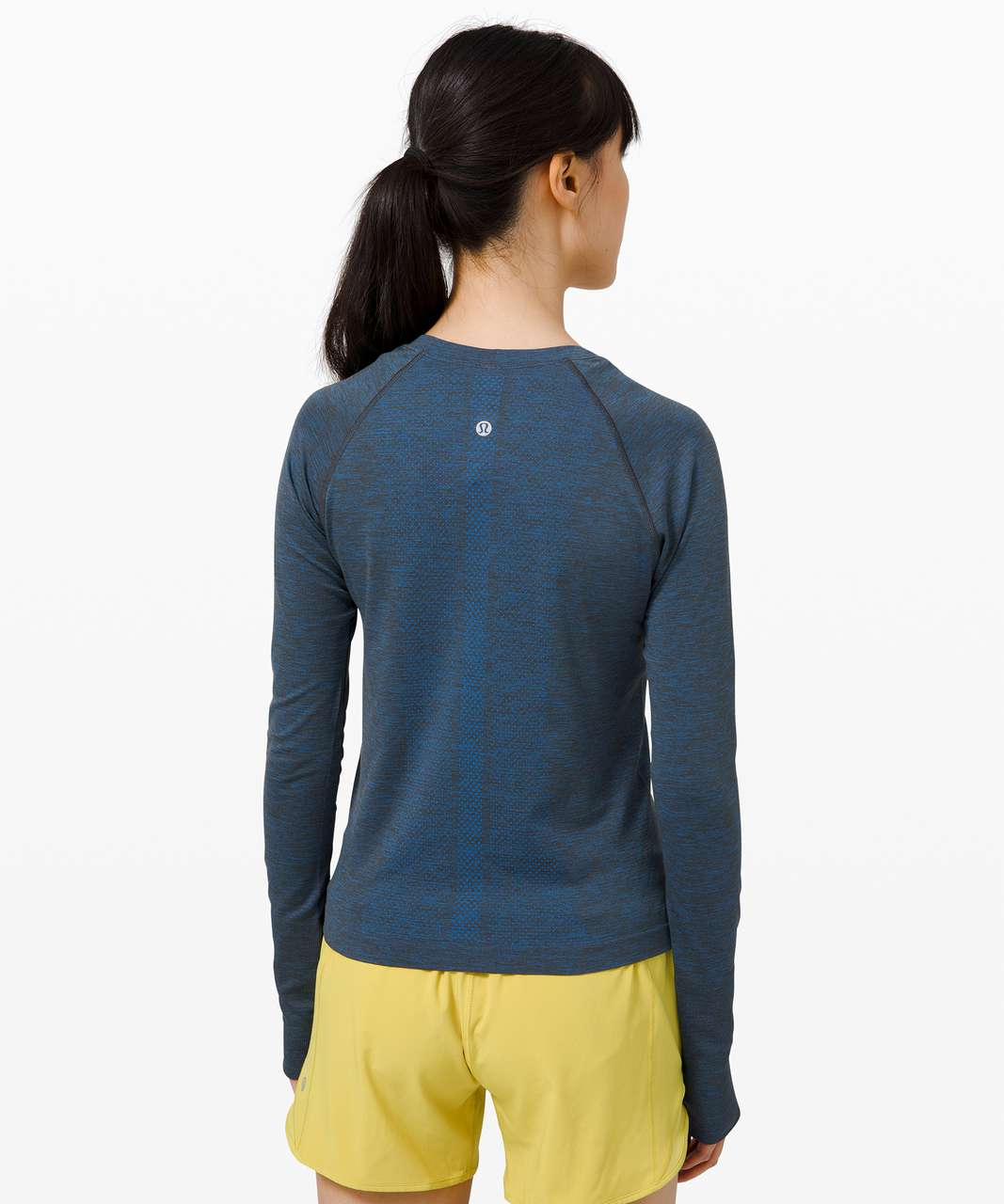 Lululemon Swiftly Tech Long Sleeve 2.0 *Race - Wild Bluebell / Graphite Grey