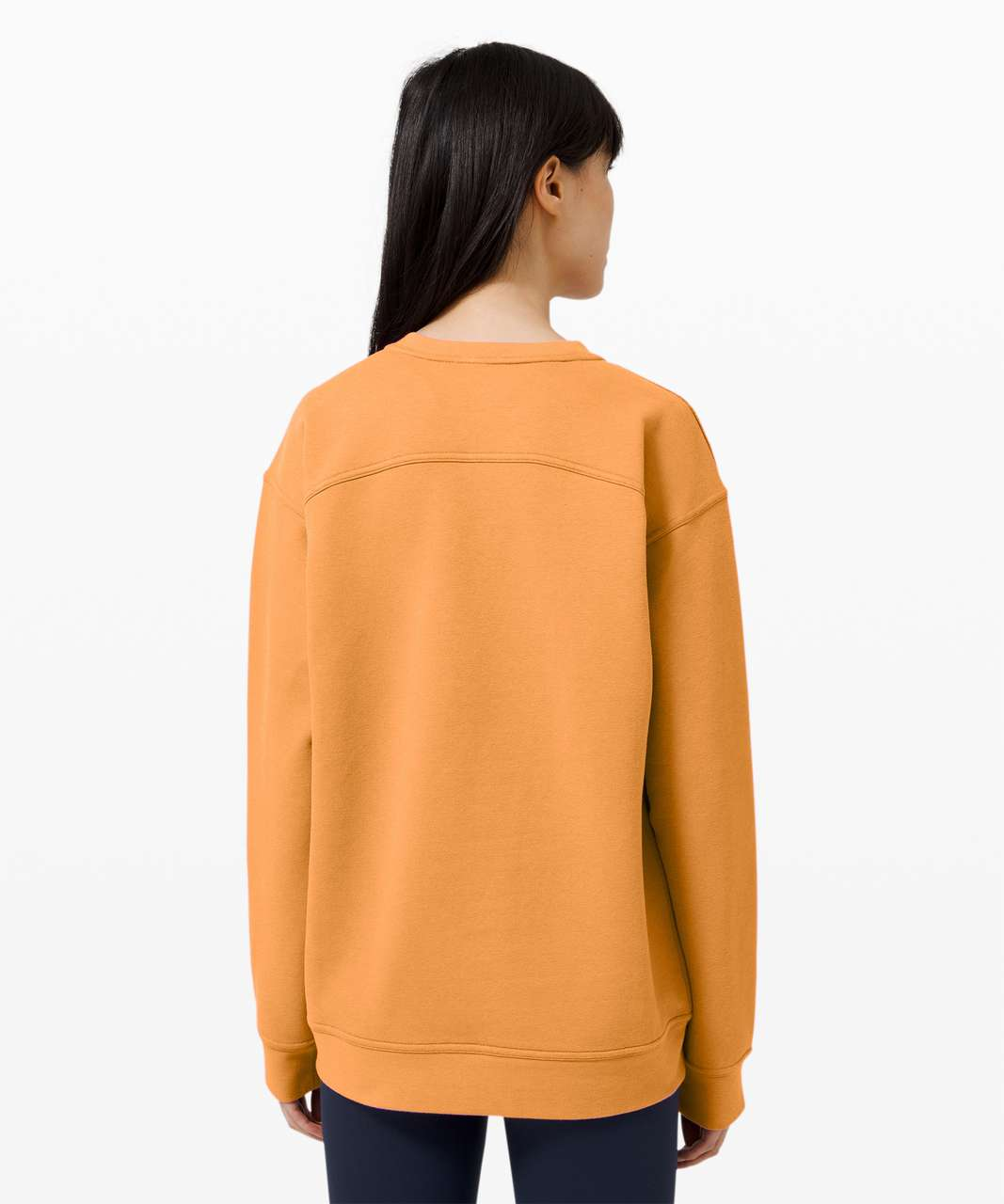 Lululemon All Yours Crew - Monarch Orange