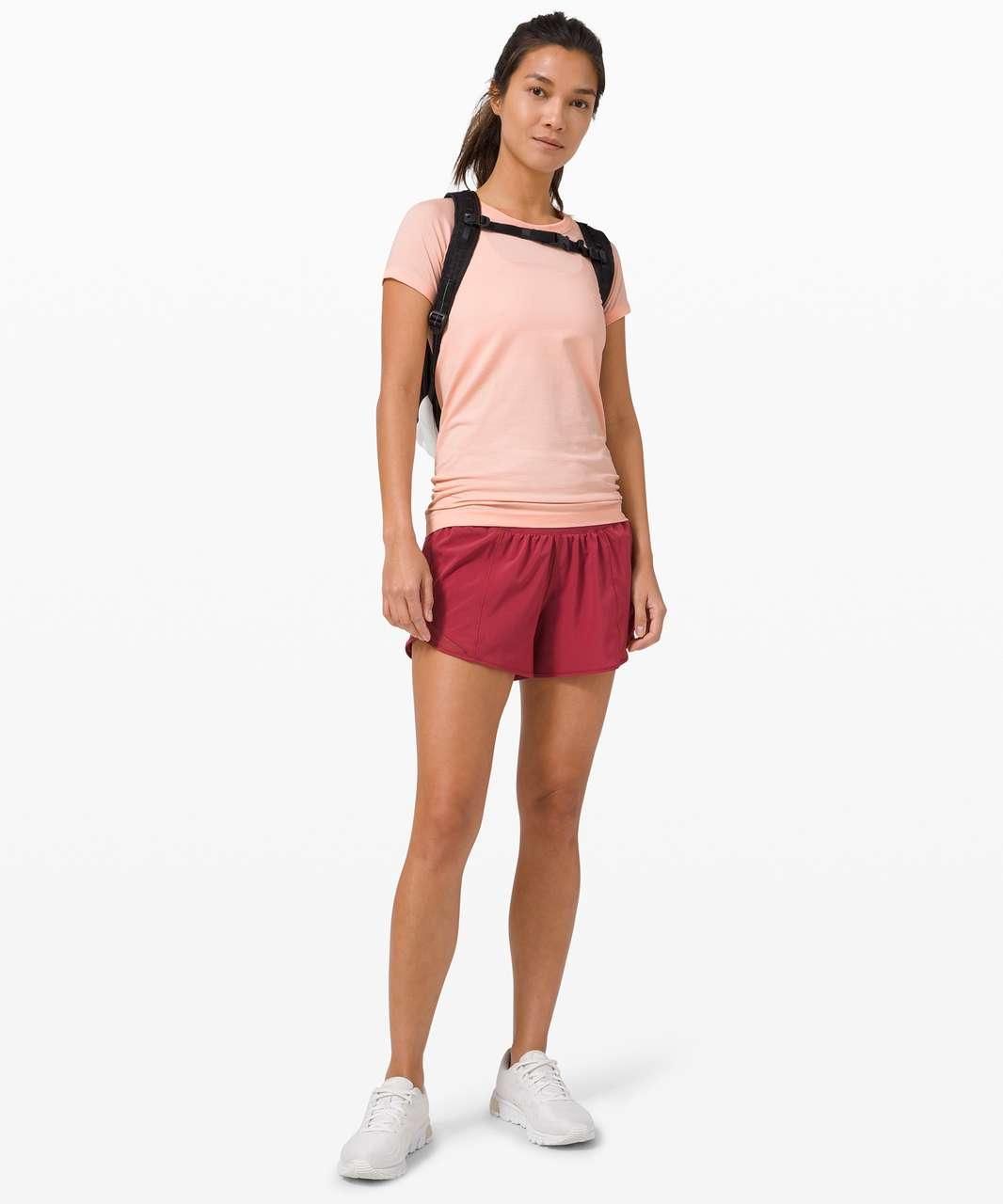 Lululemon Swiftly Tech Short Sleeve 2.0 - Ballet Slipper / White