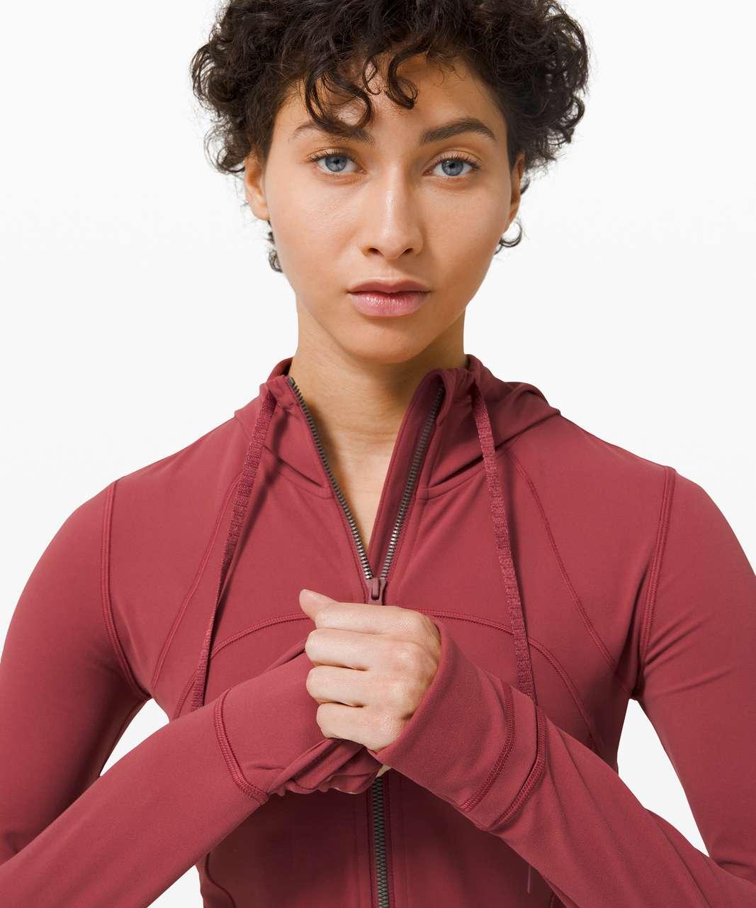 Lululemon Hooded Define Jacket *Nulu - Chianti