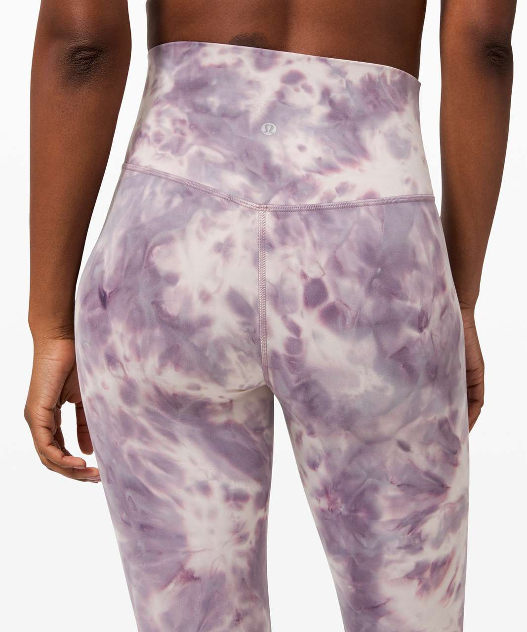 "Lululemon Align Pant 25"" *Diamond Dye - Diamond Dye Pink Bliss Graphite Purple"