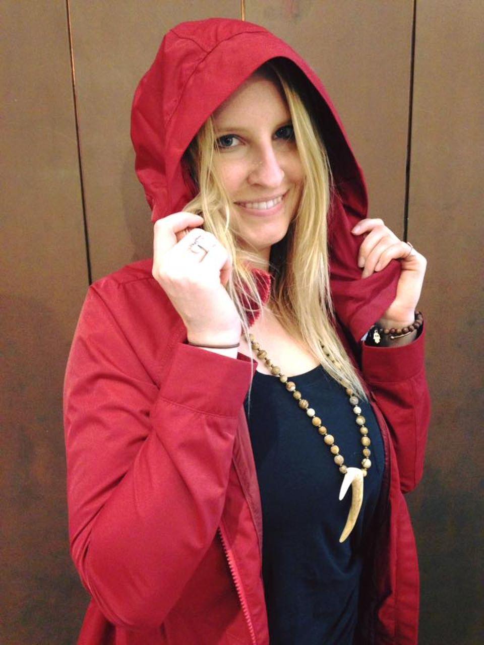 Lululemon Rain For Daze Jacket II - Prep Red