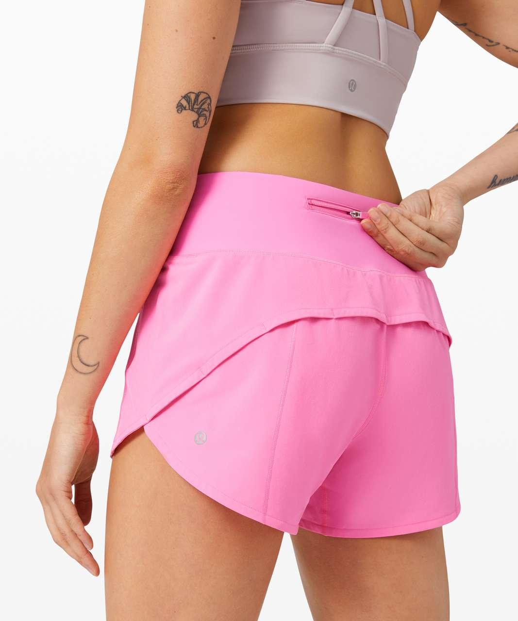 Lululemon Speed Up Short Long 4 Updated Fit Dark Prism Pink Lulu Fanatics