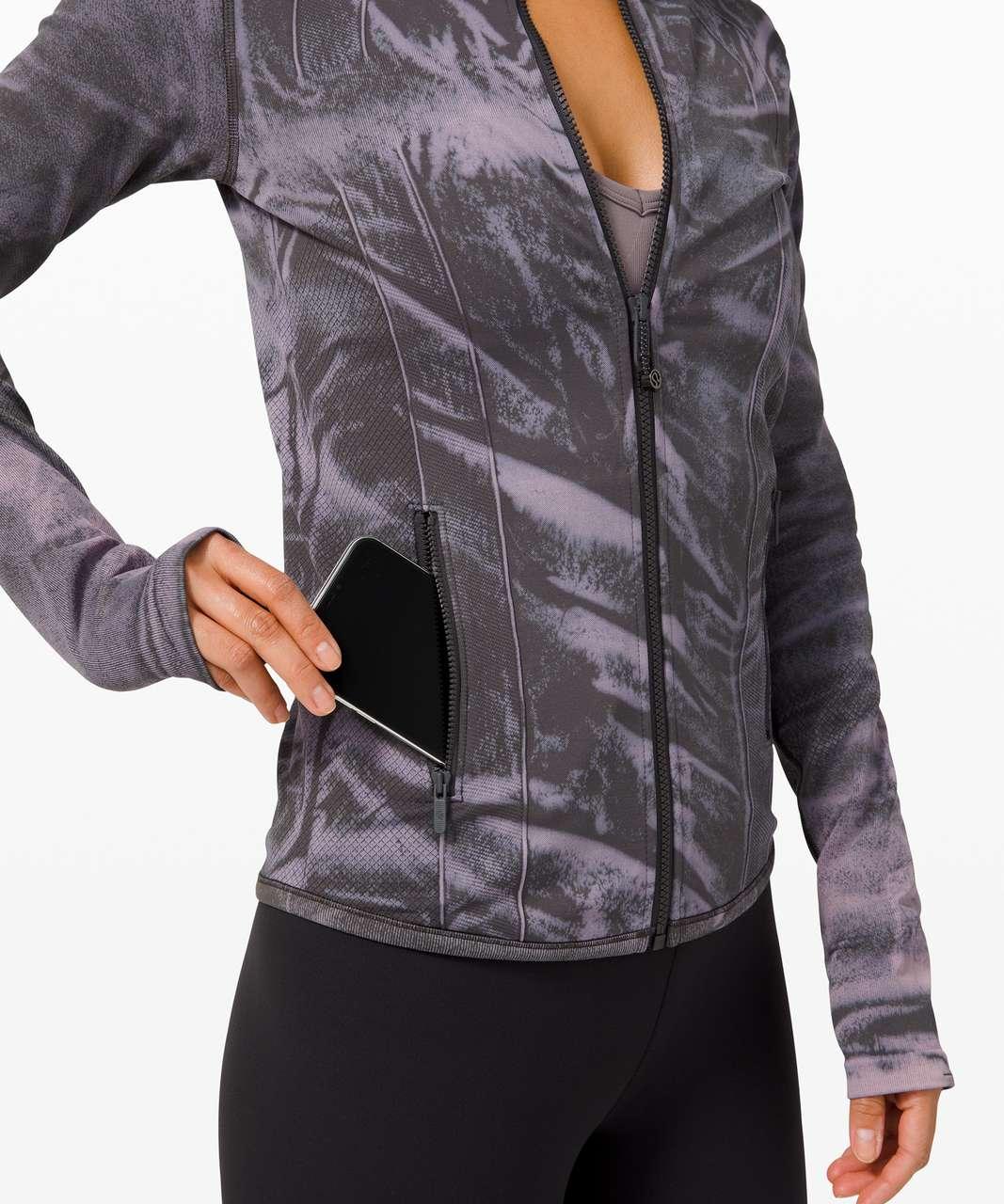 Lululemon Ebb to Street Define Jacket *Wash - Stone Wash Graphite Grey