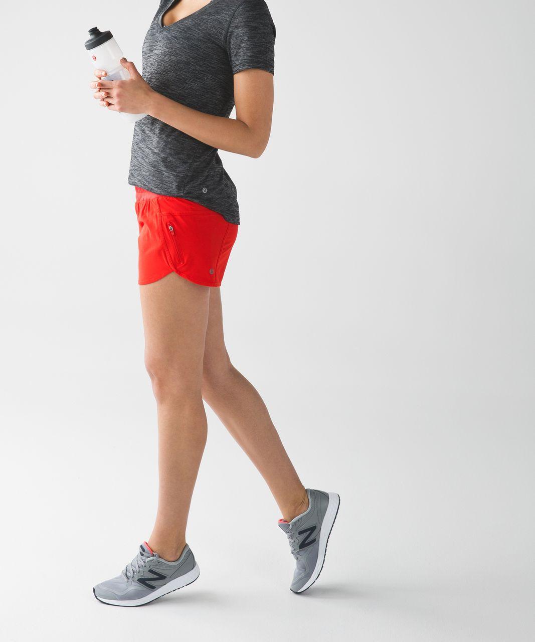 Lululemon Tracker Short IV - True Red