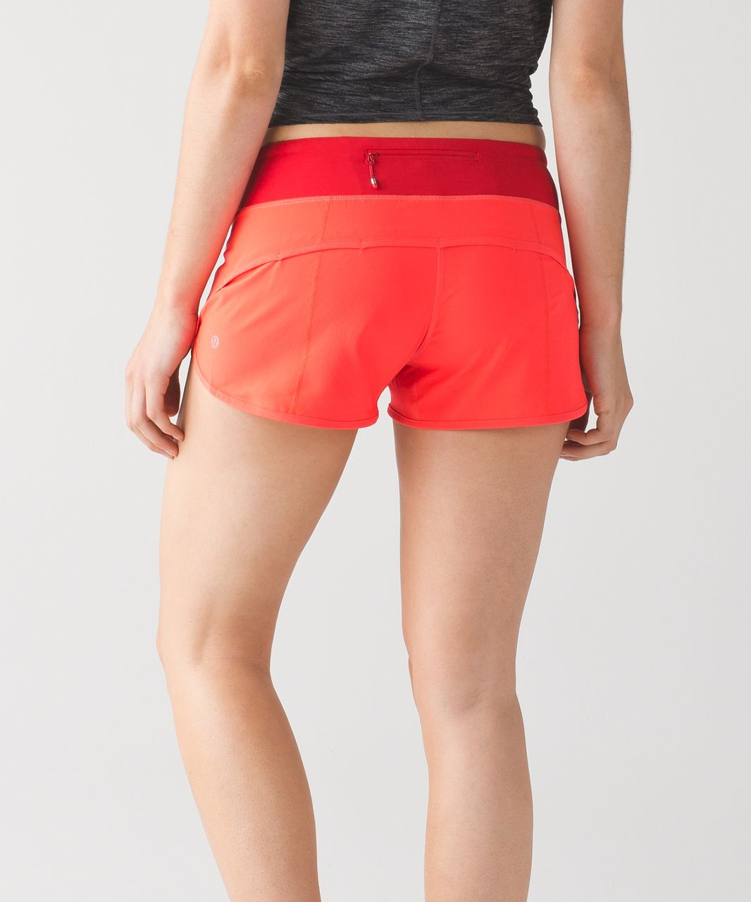 Lululemon Speed Short - Flare / True Red