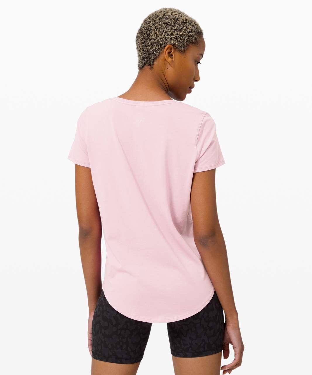 Lululemon Love Tee V - Misty Pink