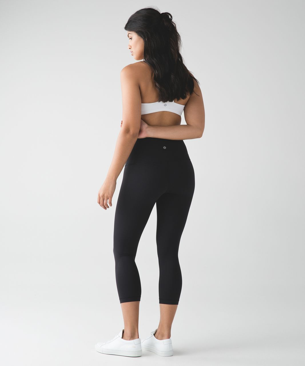 Lululemon Wunder Under Crop (Hi-Rise) - Black