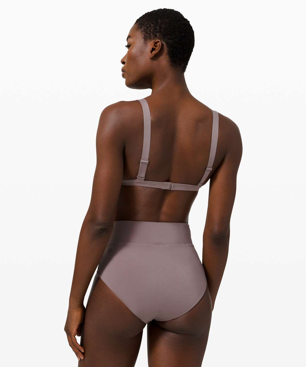 Lululemon All that Glimmers Triangle Top - Lunar Rock