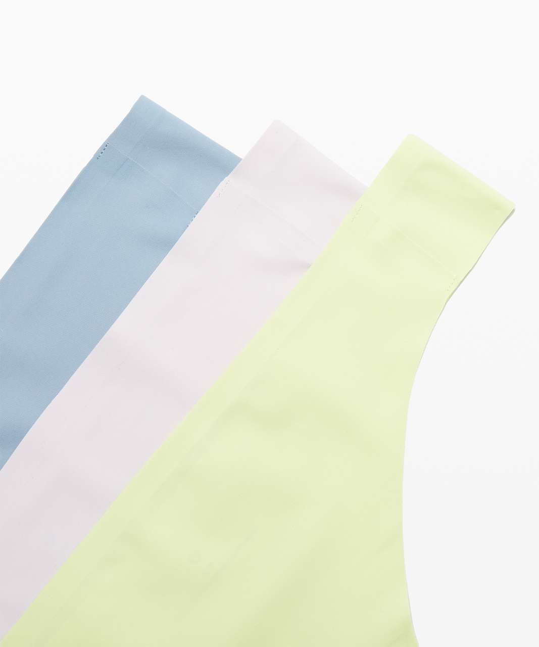 Lululemon Namastay Put Thong 3 Pack - Blue Cast / Lemon Vibe / Misty Pink