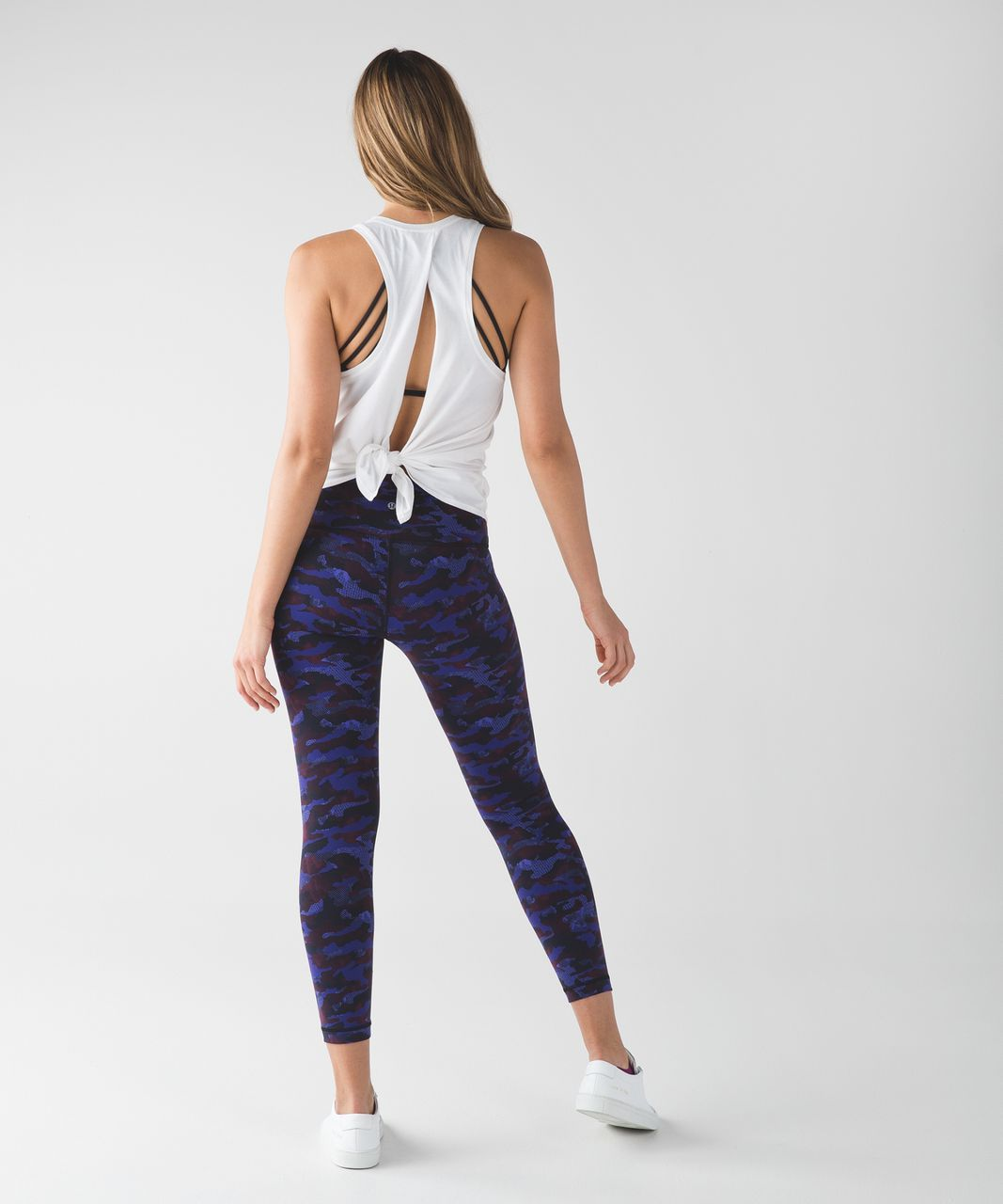 Lululemon High Times Pant - Hounds Camo Emperor Blue Black