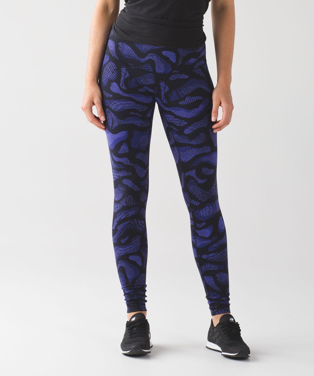 c33cda910 Lululemon Wunder Under Pant III - Warp Super Purple Black - lulu fanatics