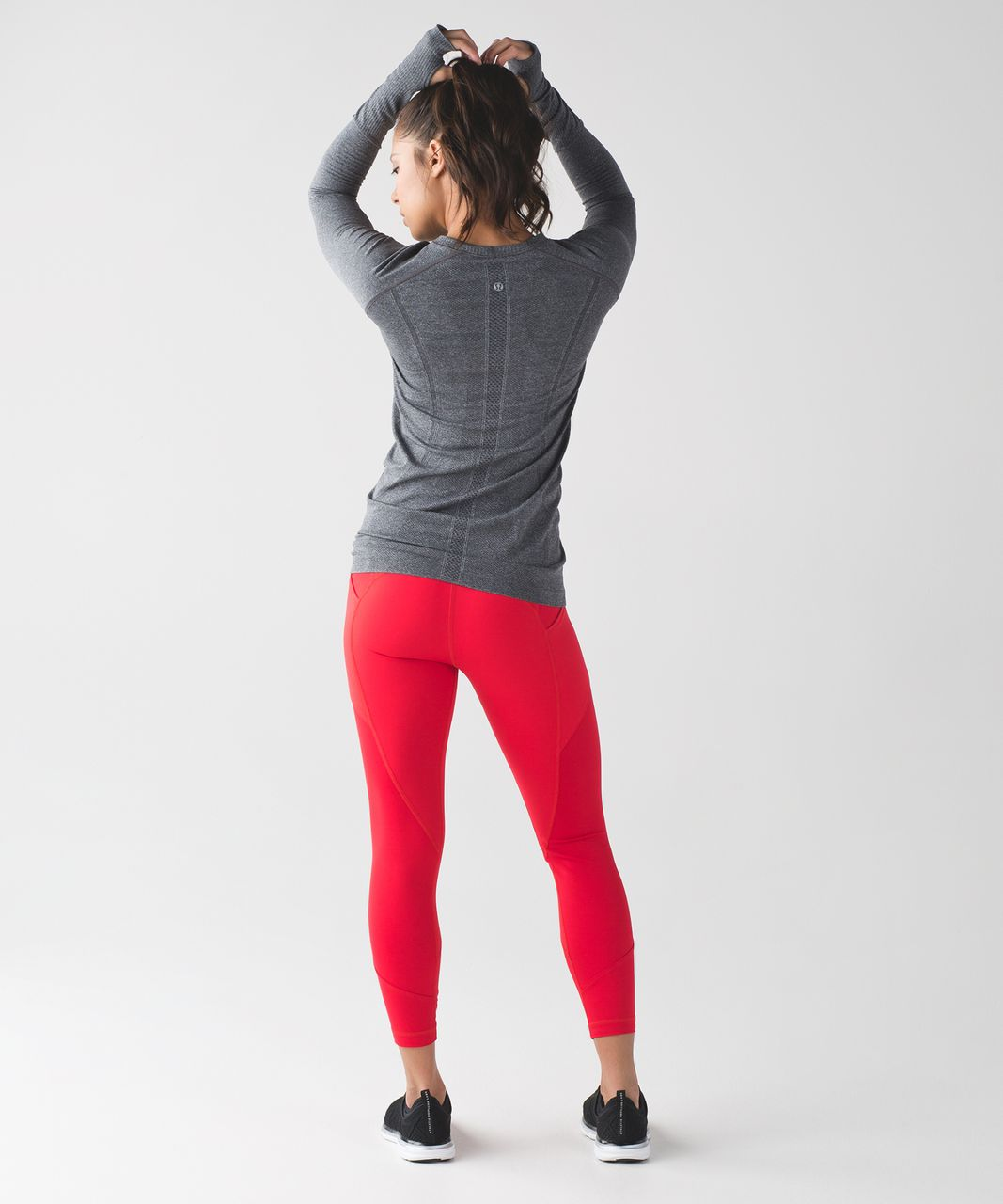 Lululemon All The Right Places Crop II - True Red