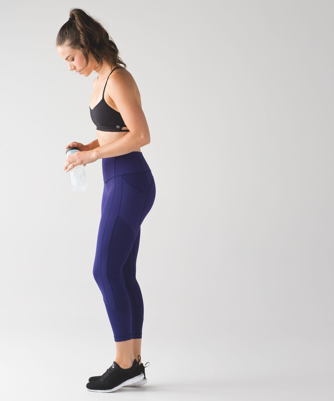 Lululemon All The Right Places Crop II - Emperor Blue