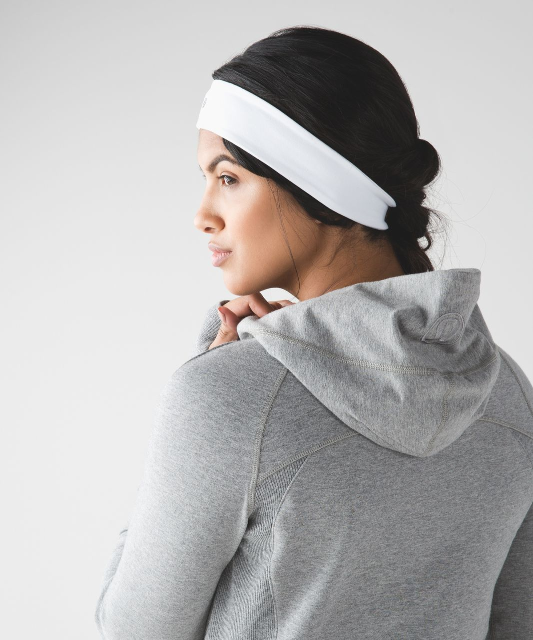 Lululemon Fly Away Tamer Headband II - White
