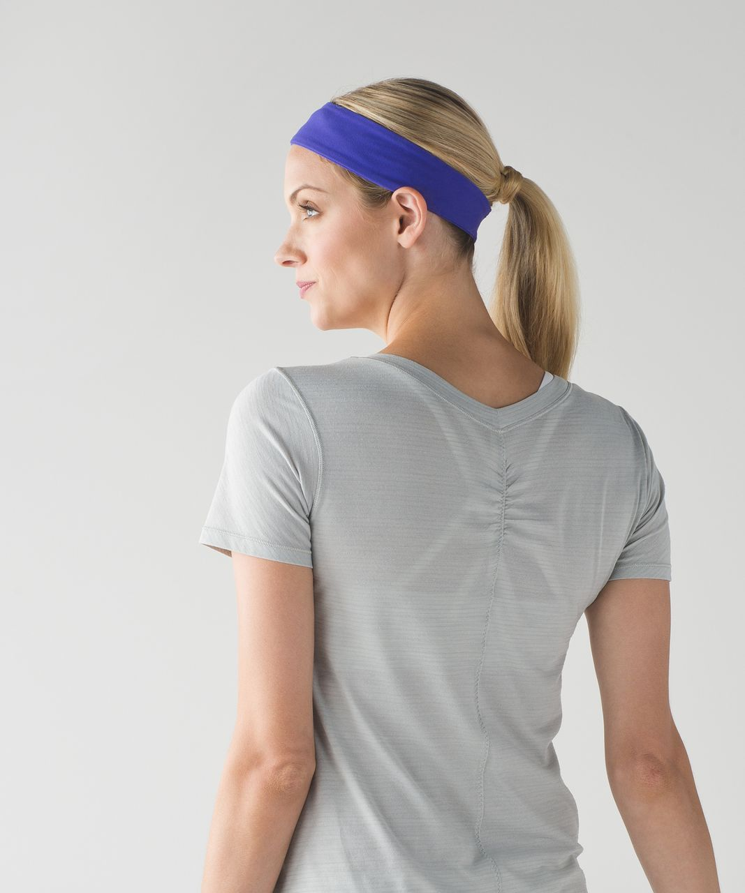 Lululemon Fly Away Tamer Headband II - Super Purple