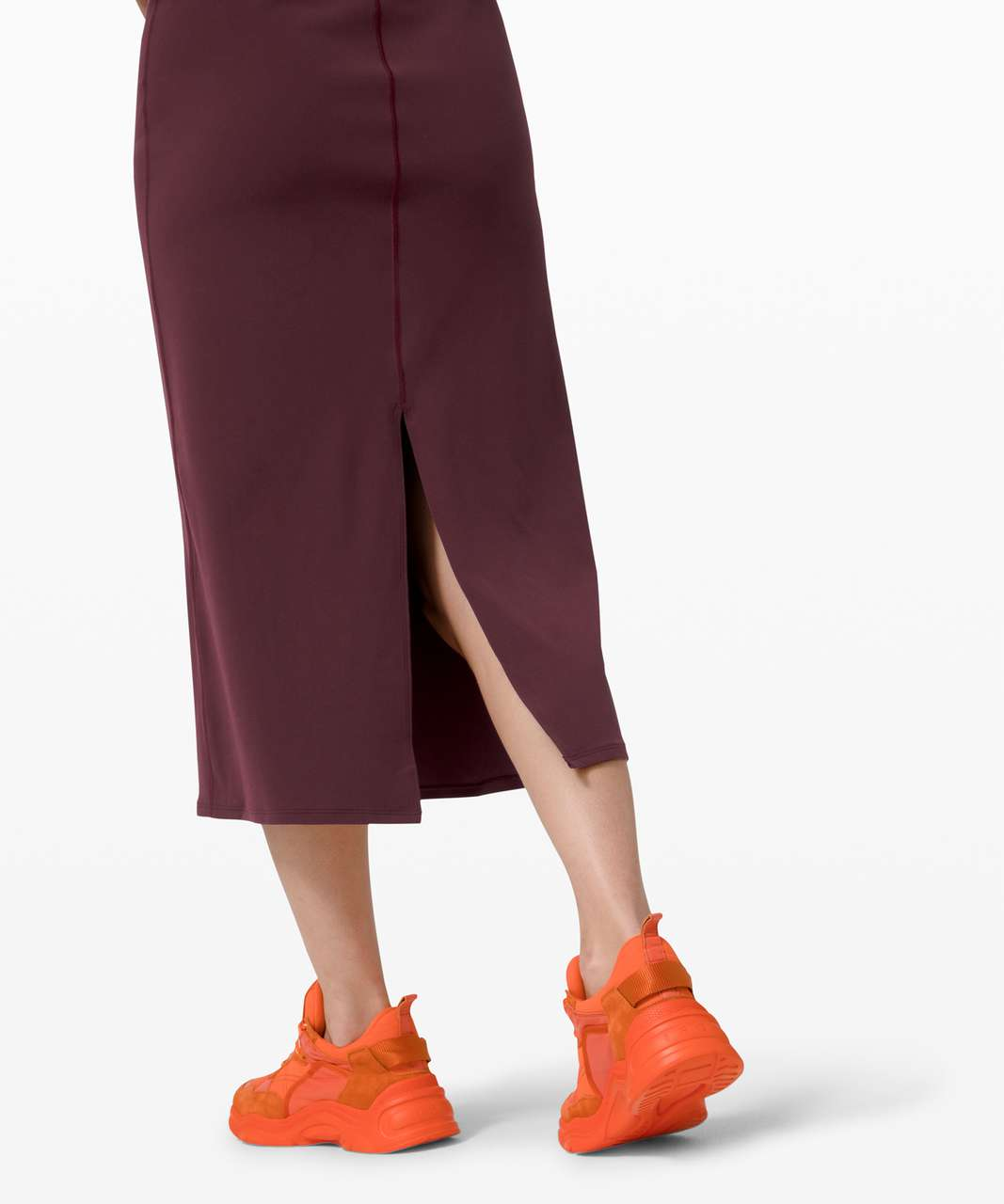 Lululemon All Aligned Midi Dress - Cassis