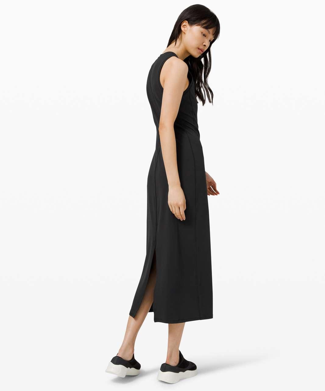 Lululemon All Aligned Midi Dress - Black