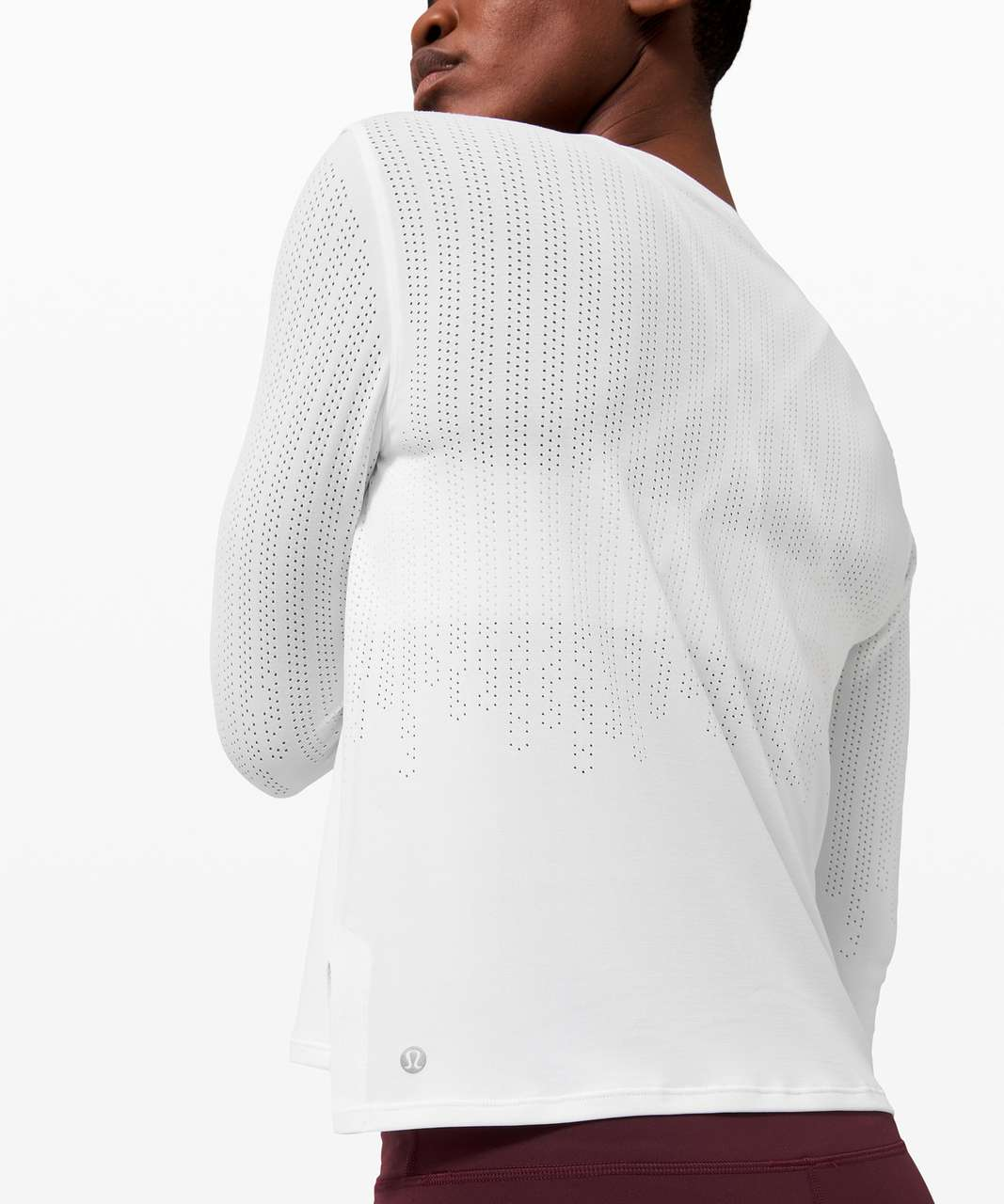 Lululemon Train to Be Long Sleeve - White / White
