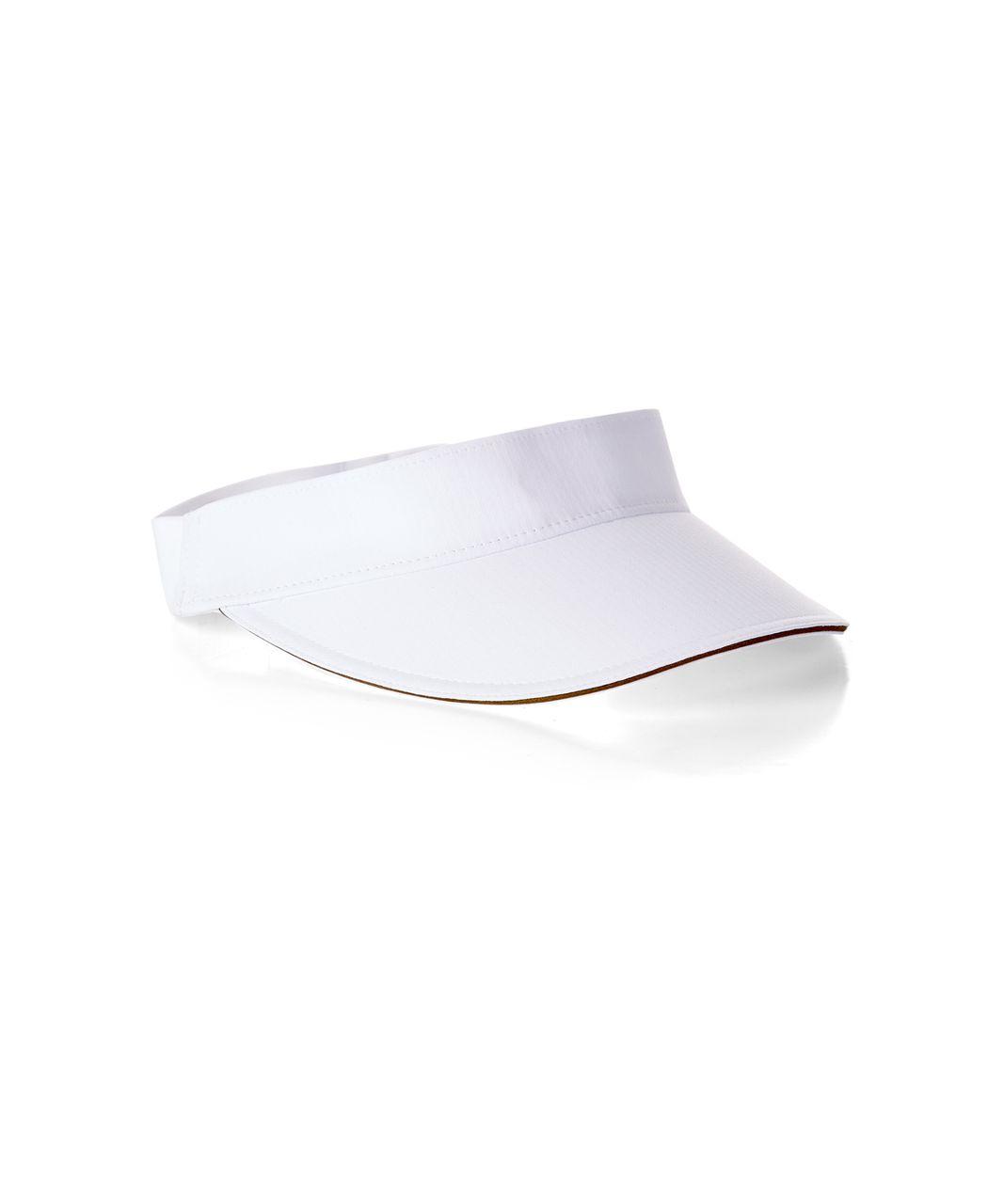 Lululemon Fast Paced Run Visor - White (Second Release)