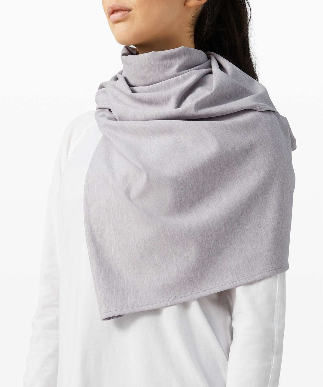 Lululemon Vinyasa Scarf *Modal - Heathered Iced Iris