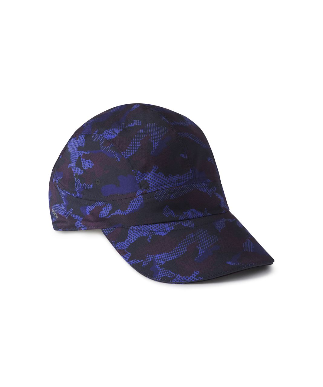 Lululemon Race To Place Run Hat 2.0 - Hounds Camo Emperor Blue Black