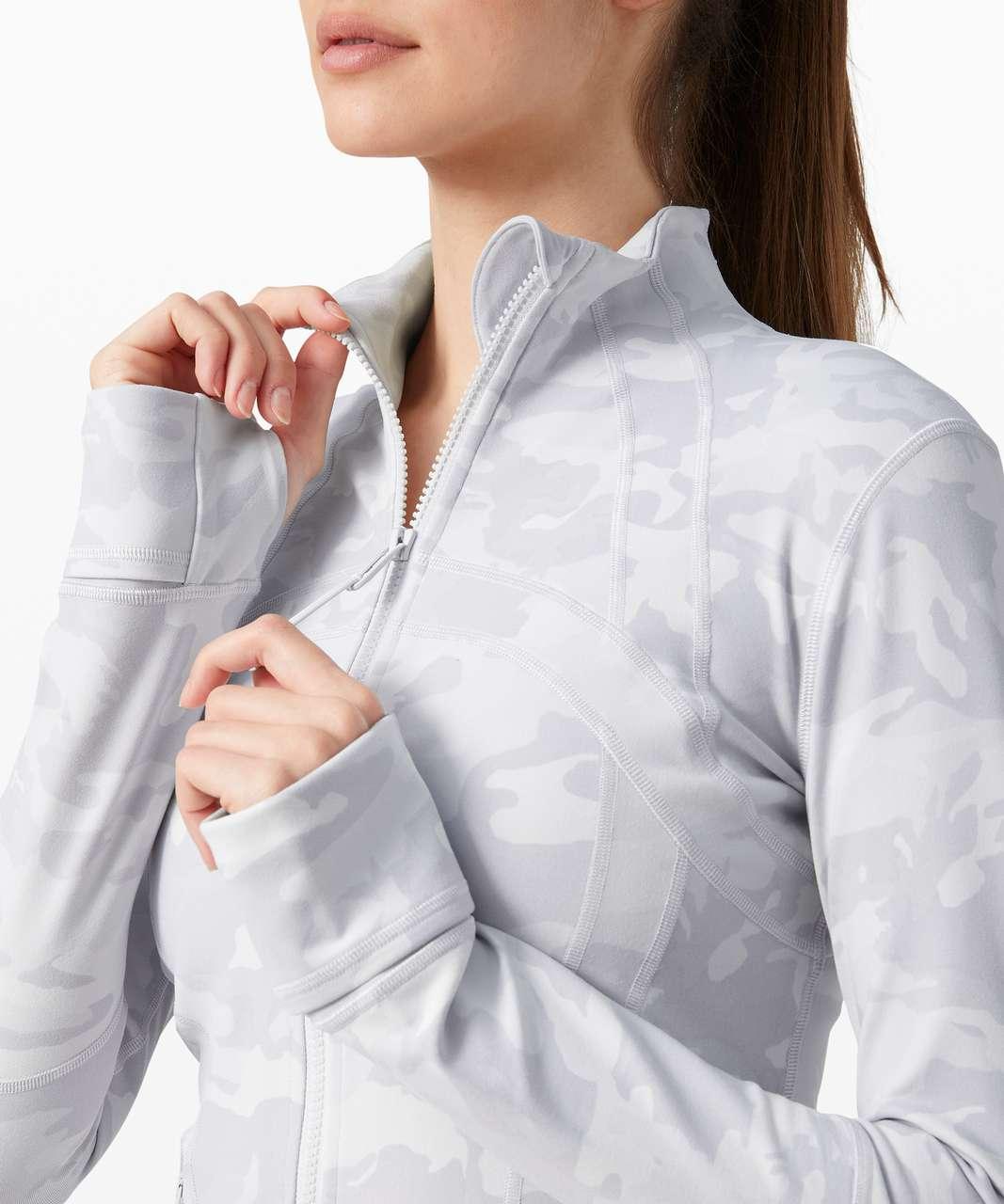 Lululemon Define Jacket - Incognito Camo Alpine White Multi