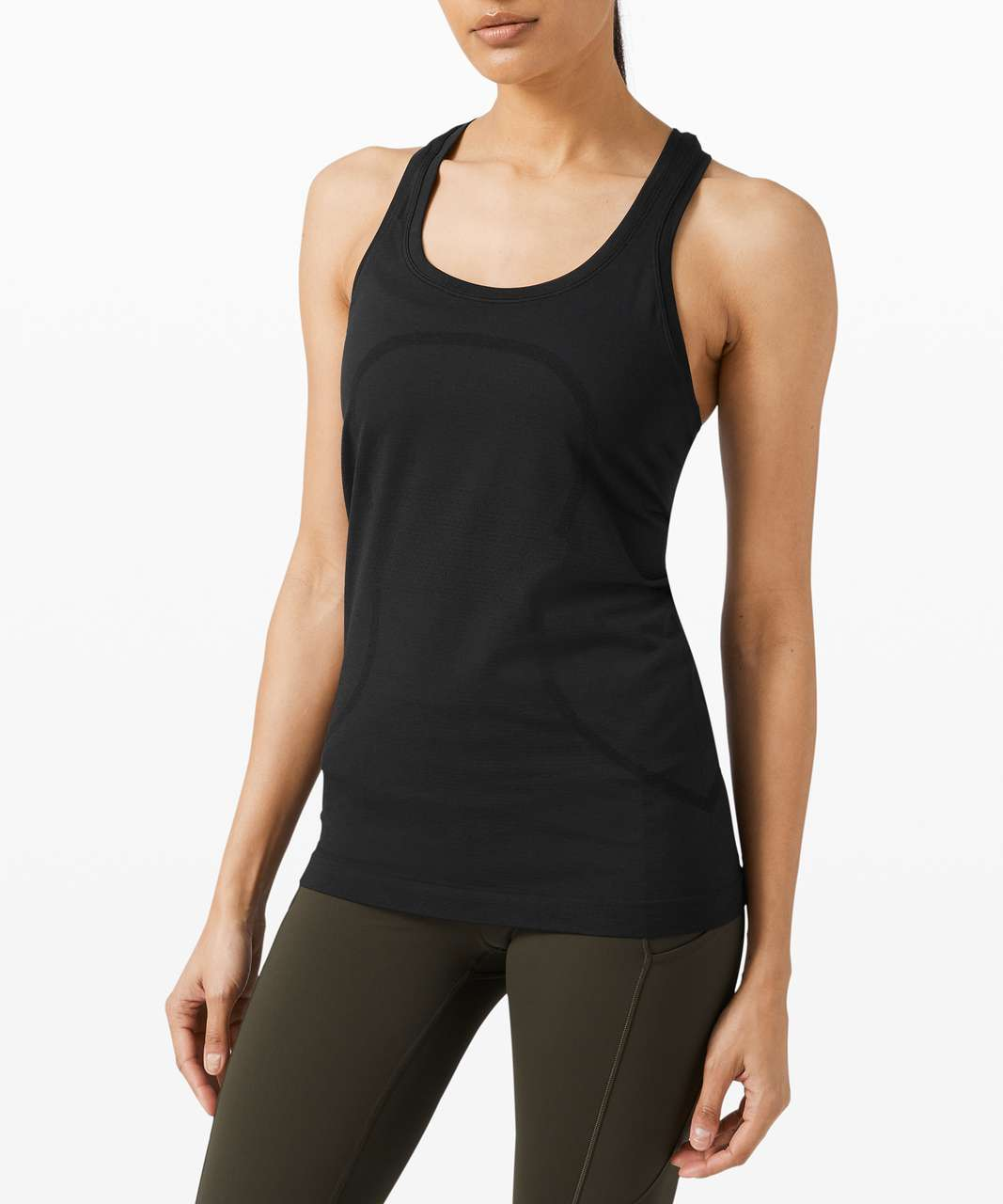Lululemon Swiftly Tech Racerback 2.0 - Black / Black