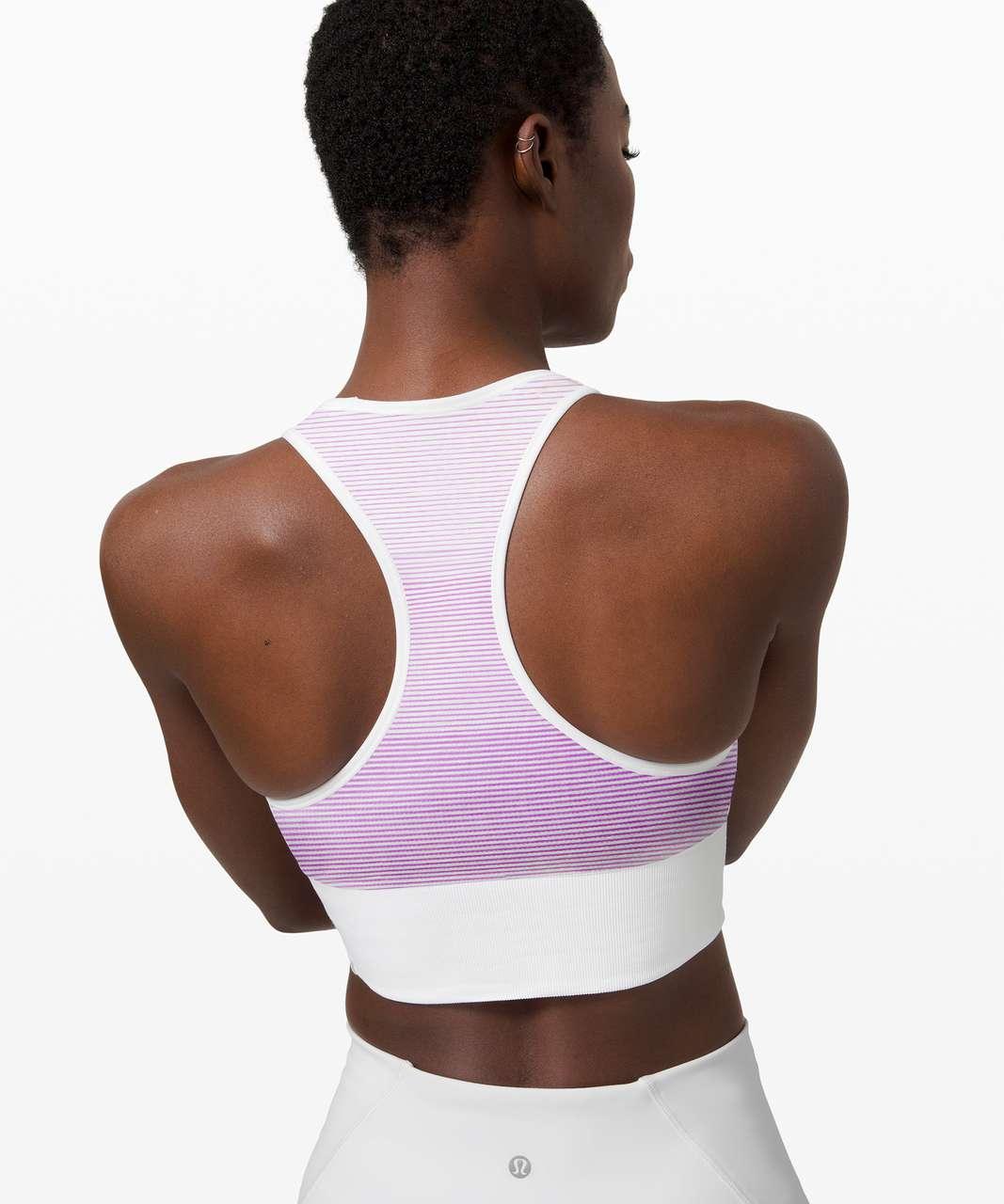 Lululemon Ebb to Train Bra *Sun - White / Pink
