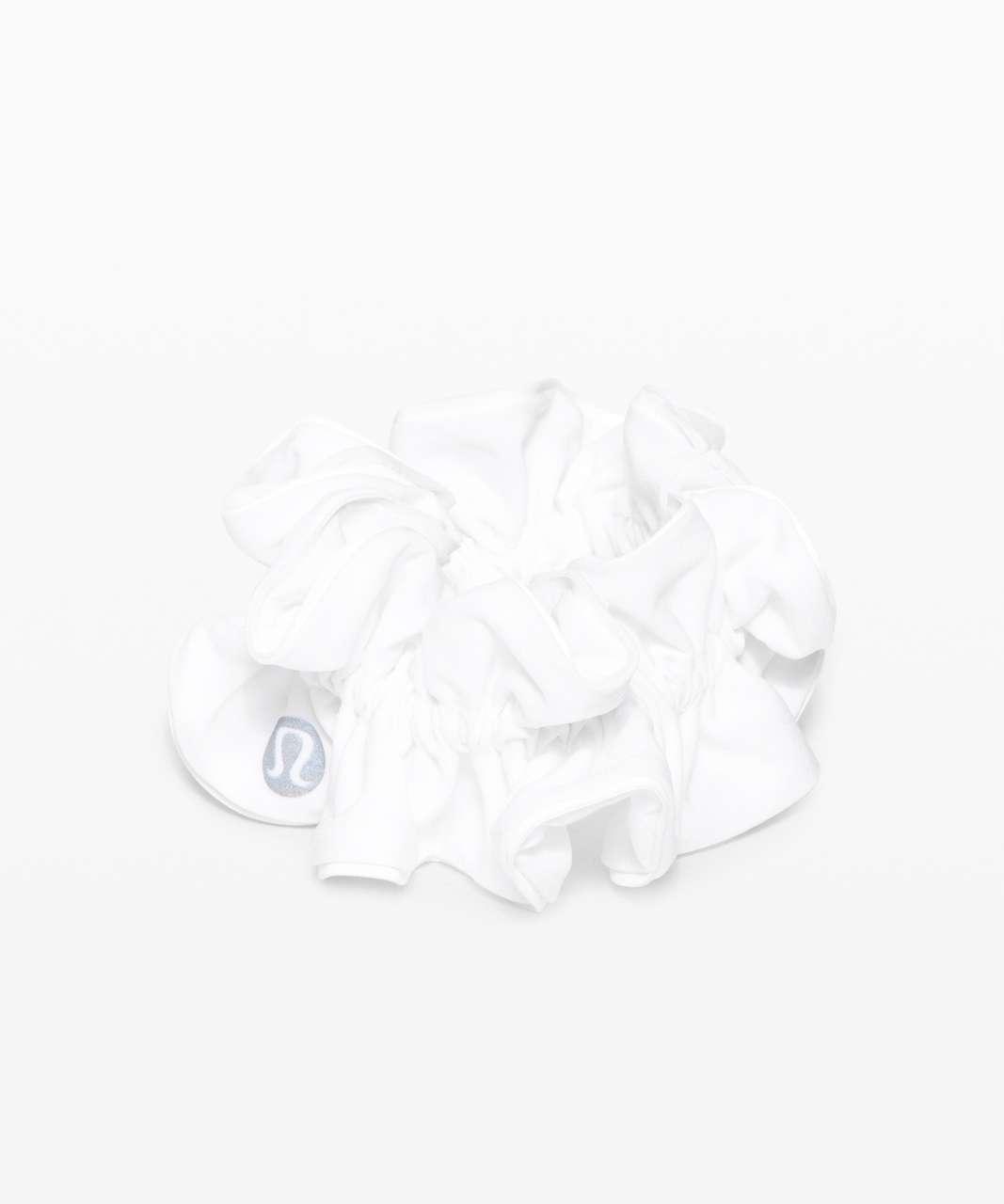 Lululemon Light Locks Scrunchie II - White