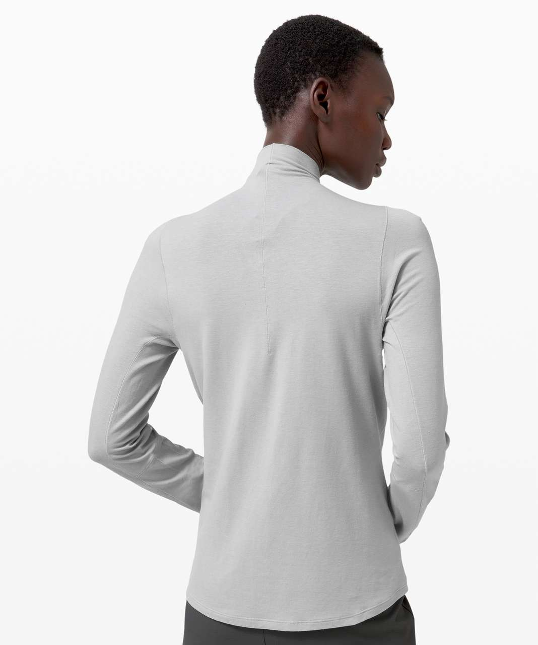 Lululemon Kosaten Long Sleeve *lululemon lab - Silver Drop
