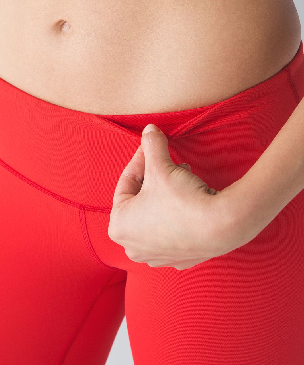 Lululemon Wunder Under Pant III (Fan Gear) - True Red