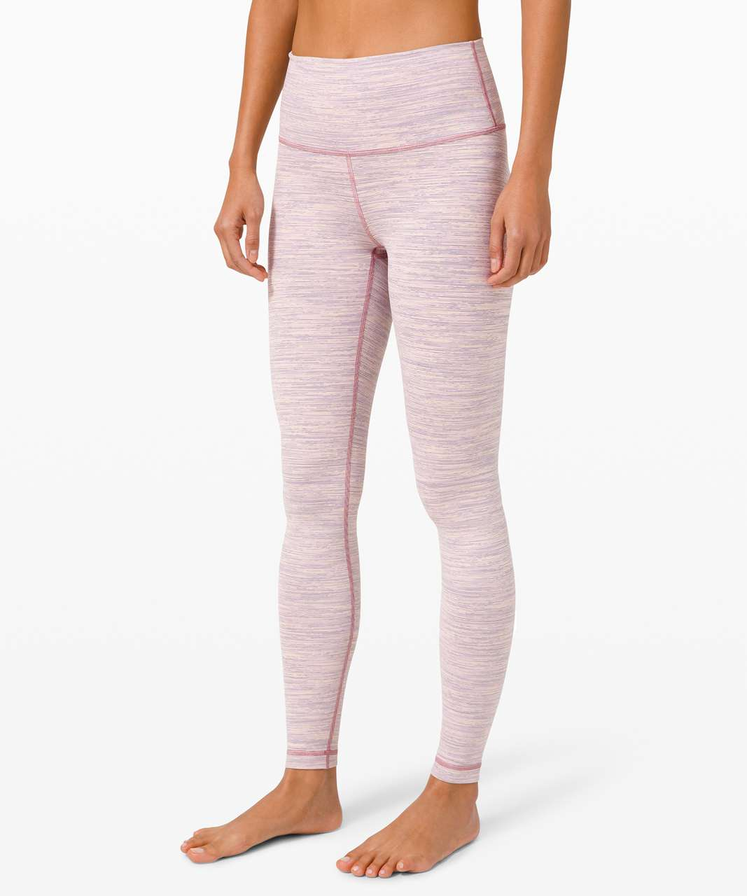 """Lululemon Wunder Under High-Rise Tight 28"""" - Wee Are From Space Pink Bliss Vintage Mauve"""