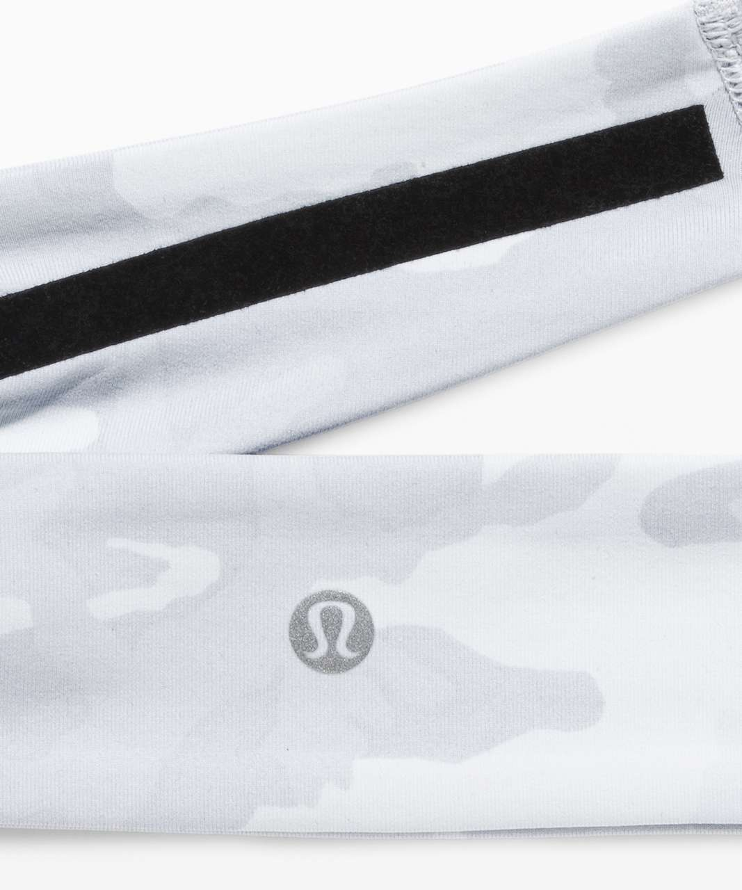Lululemon Fly Away Tamer Headband - Incognito Camo Alpine White Multi