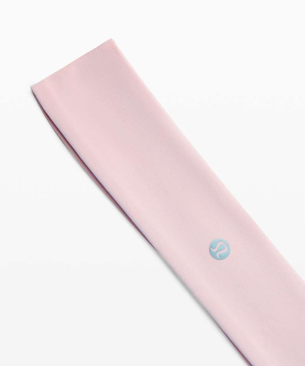 Lululemon Fly Away Tamer Headband - Misty Pink