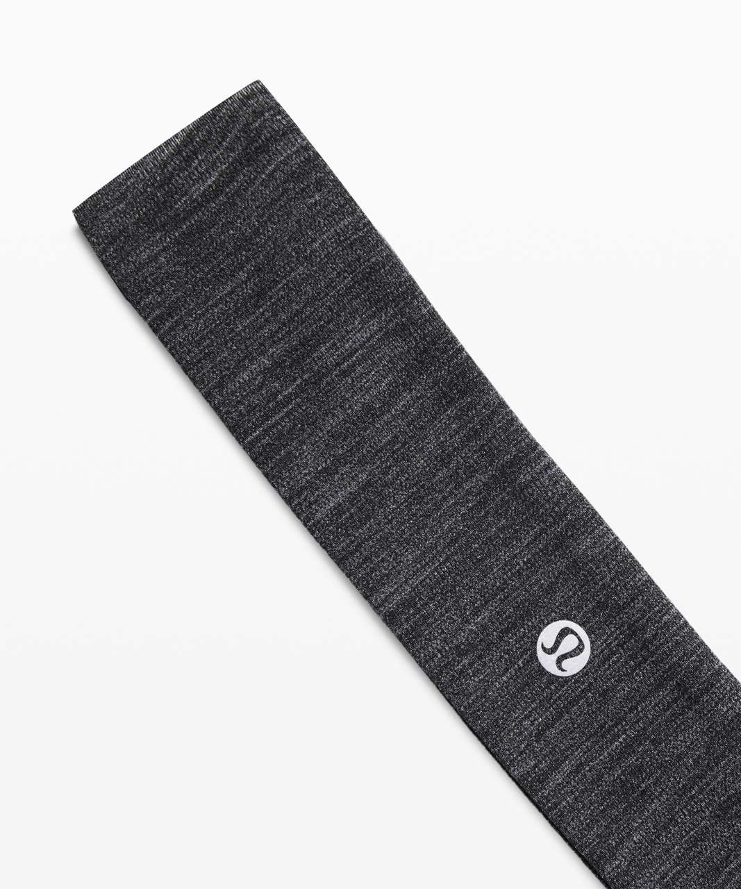 Lululemon Fly Away Tamer Headband - Heathered Black
