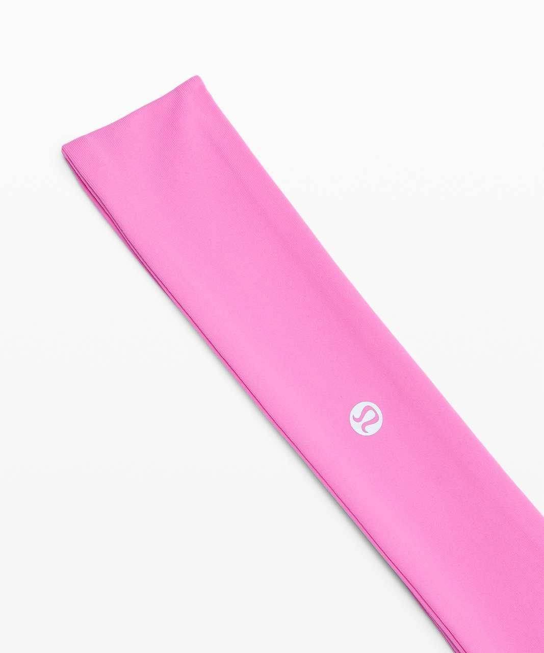 Lululemon Fly Away Tamer Headband - Dark Prism Pink