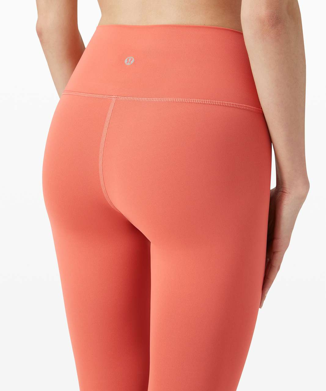 """Lululemon Wunder Under High-Rise Tight 25"""" *Full-On Luxtreme - Rustic Coral"""