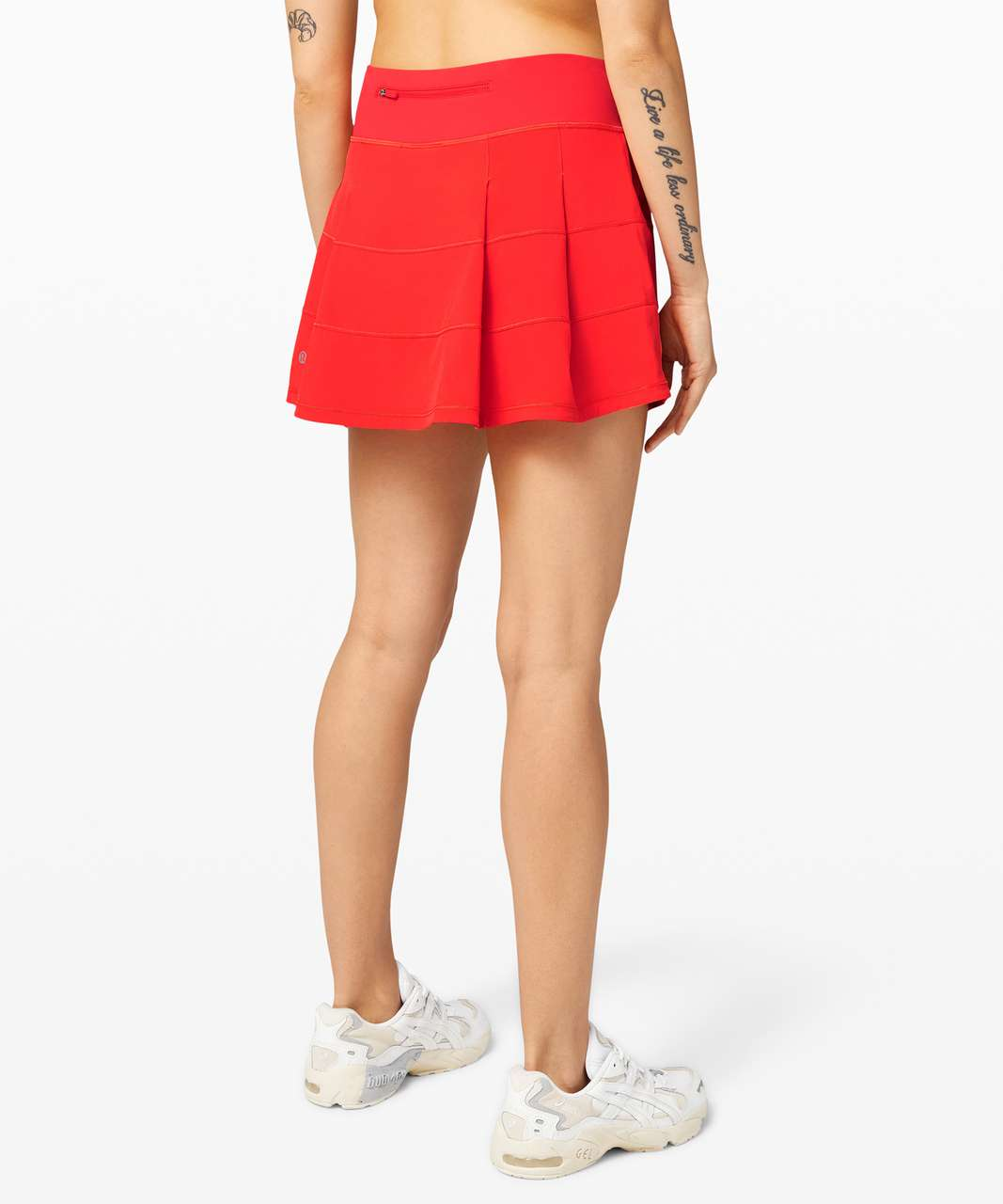 """Lululemon Pace Rival Skirt (Tall) *4-way Stretch 15"""" - Carnation Red"""