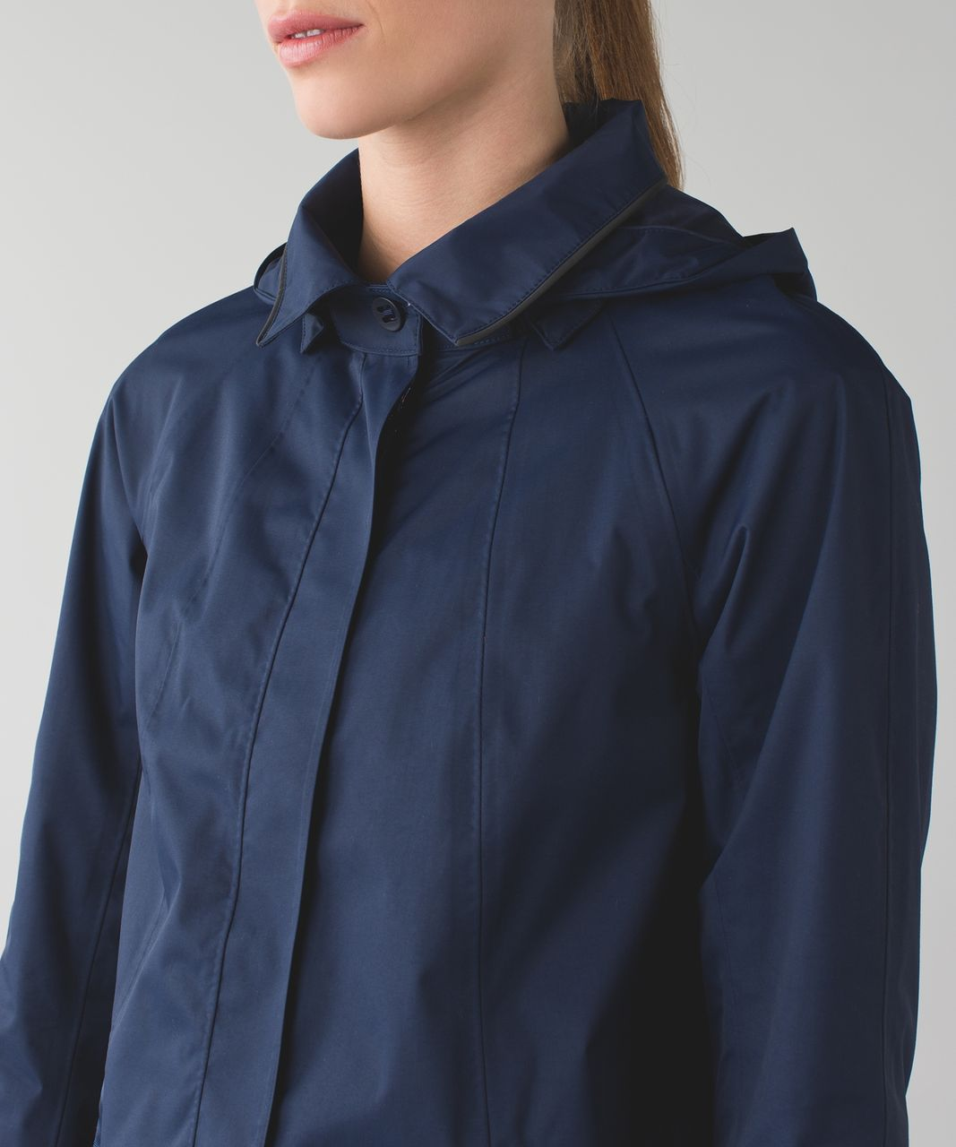 Lululemon Rain On Jacket - Deep Navy