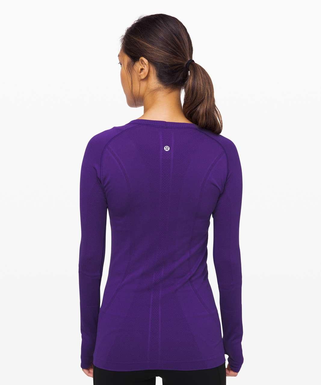 Lululemon Swiftly Tech Long Sleeve Crew - Court Purple / Court Purple