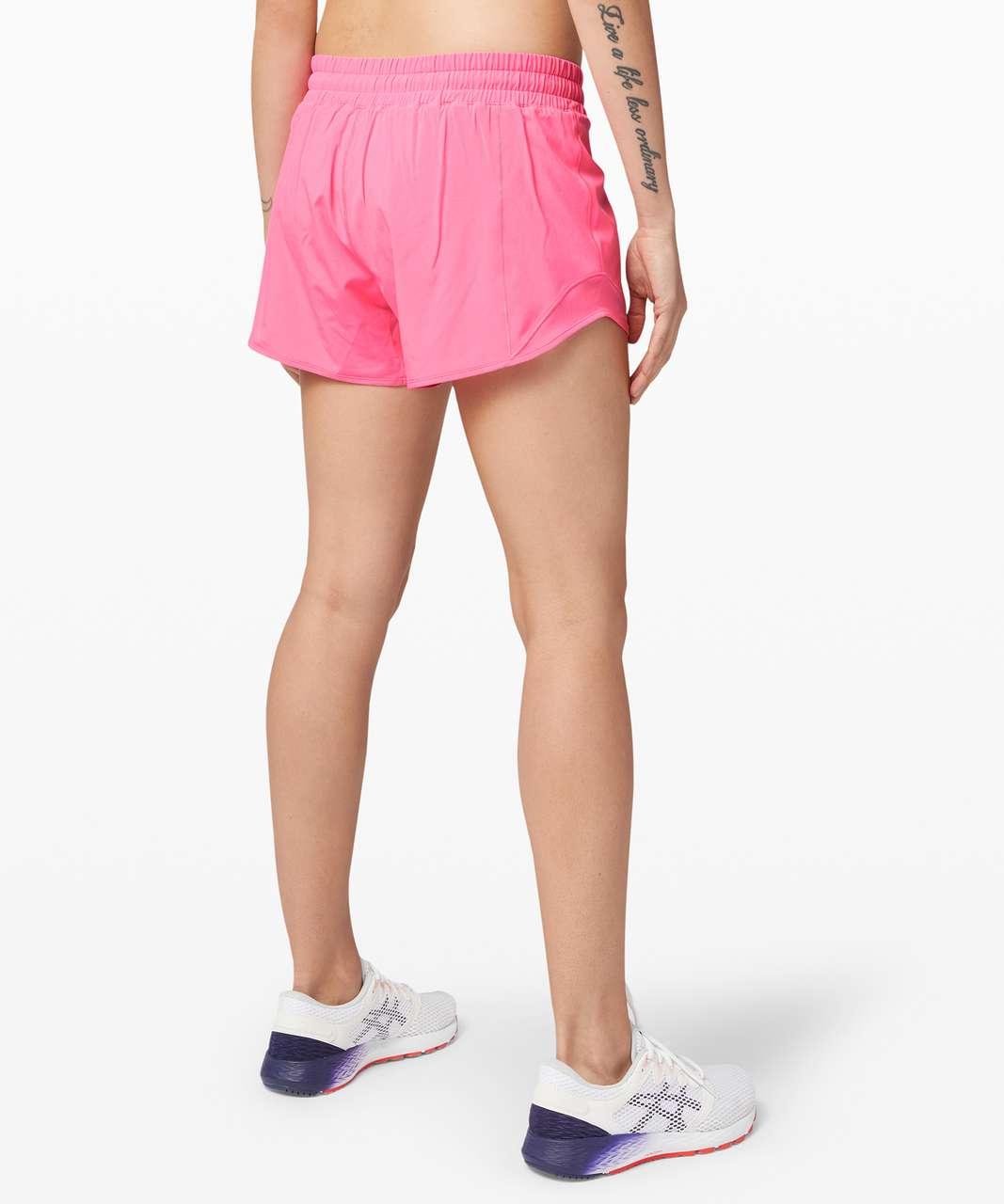 "Lululemon Hotty Hot Short II *Long 4"" - Dark Prism Pink"