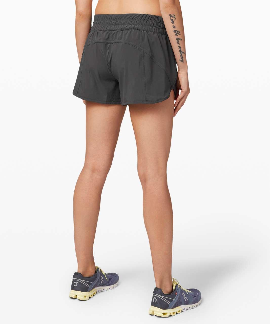 "Lululemon Tracker Short V *4"" - Graphite Grey"
