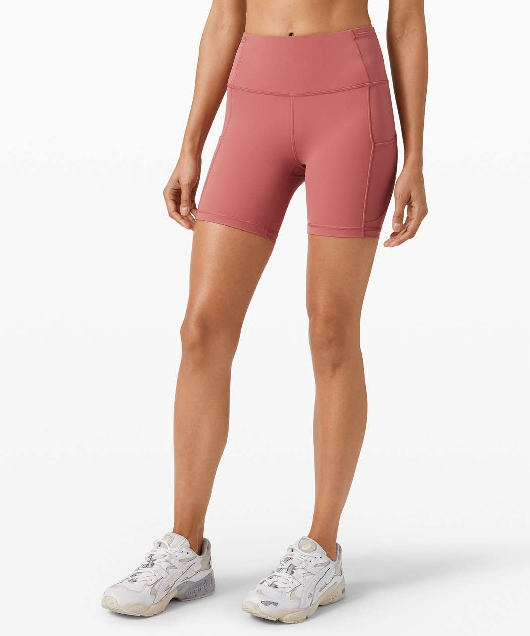 """Lululemon Fast and Free Short 6"""" *Non-Reflective - Cherry Tint"""