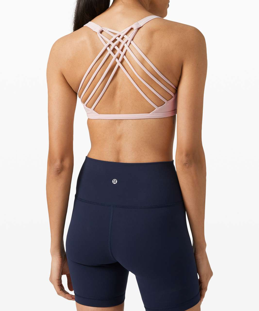 Lululemon Free To Be Bra Wild *Light Support, A/B Cup - Misty Pink