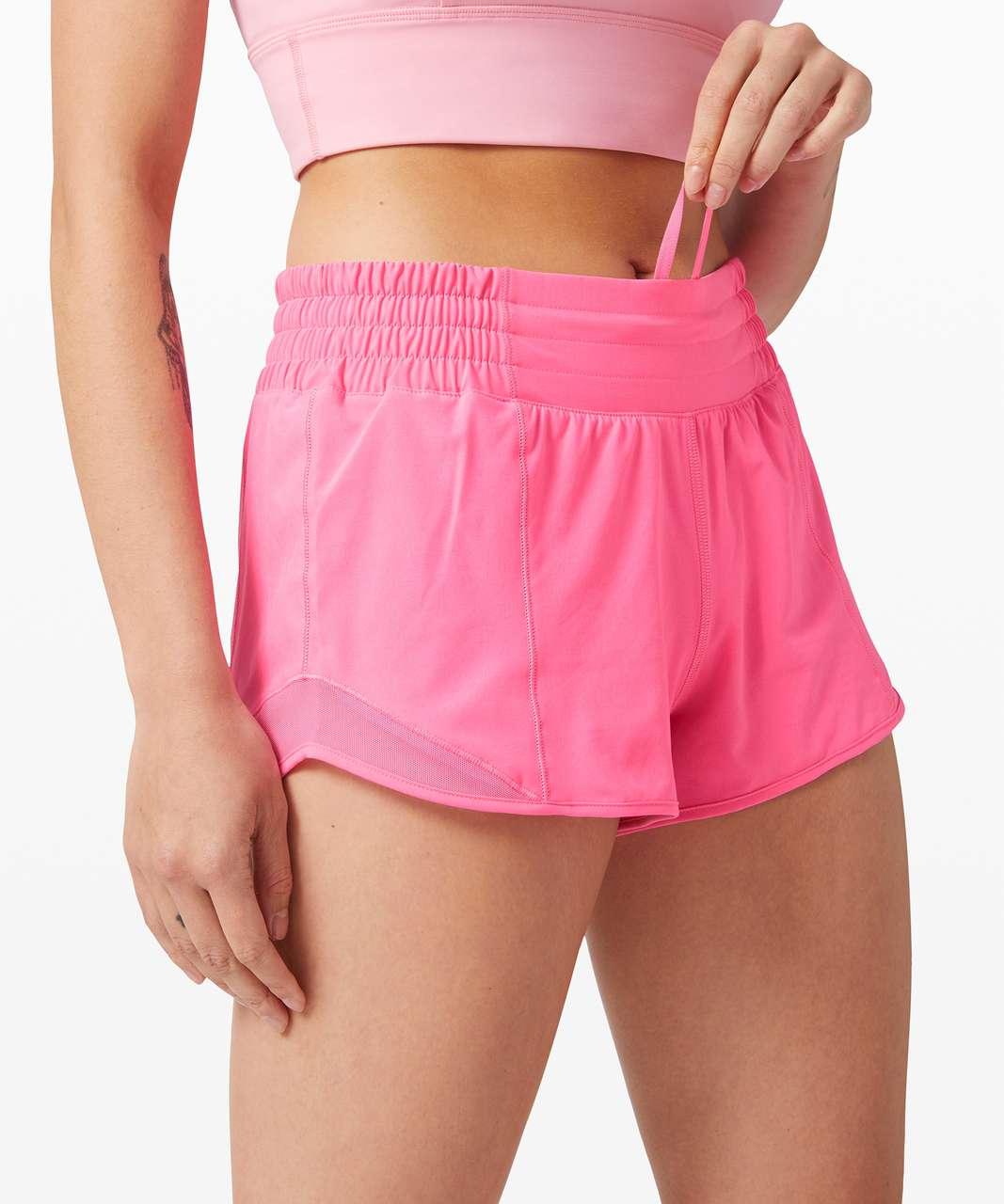 "Lululemon Hotty Hot Short *High-Rise 2.5"" - Dark Prism Pink"