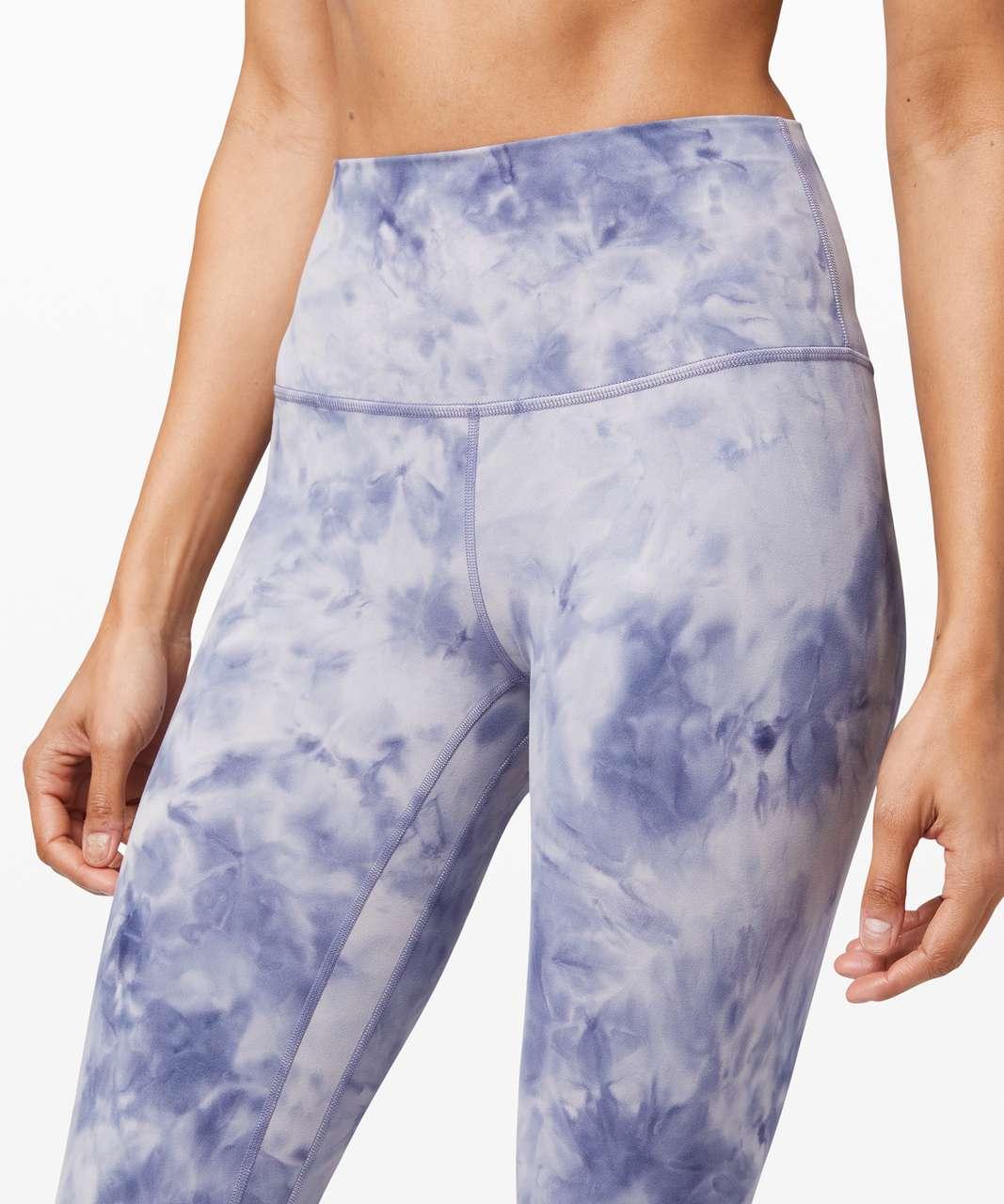 "Lululemon Align Pant 25"" *Diamond Dye - Diamond Dye Iced Iris Peri Purple"