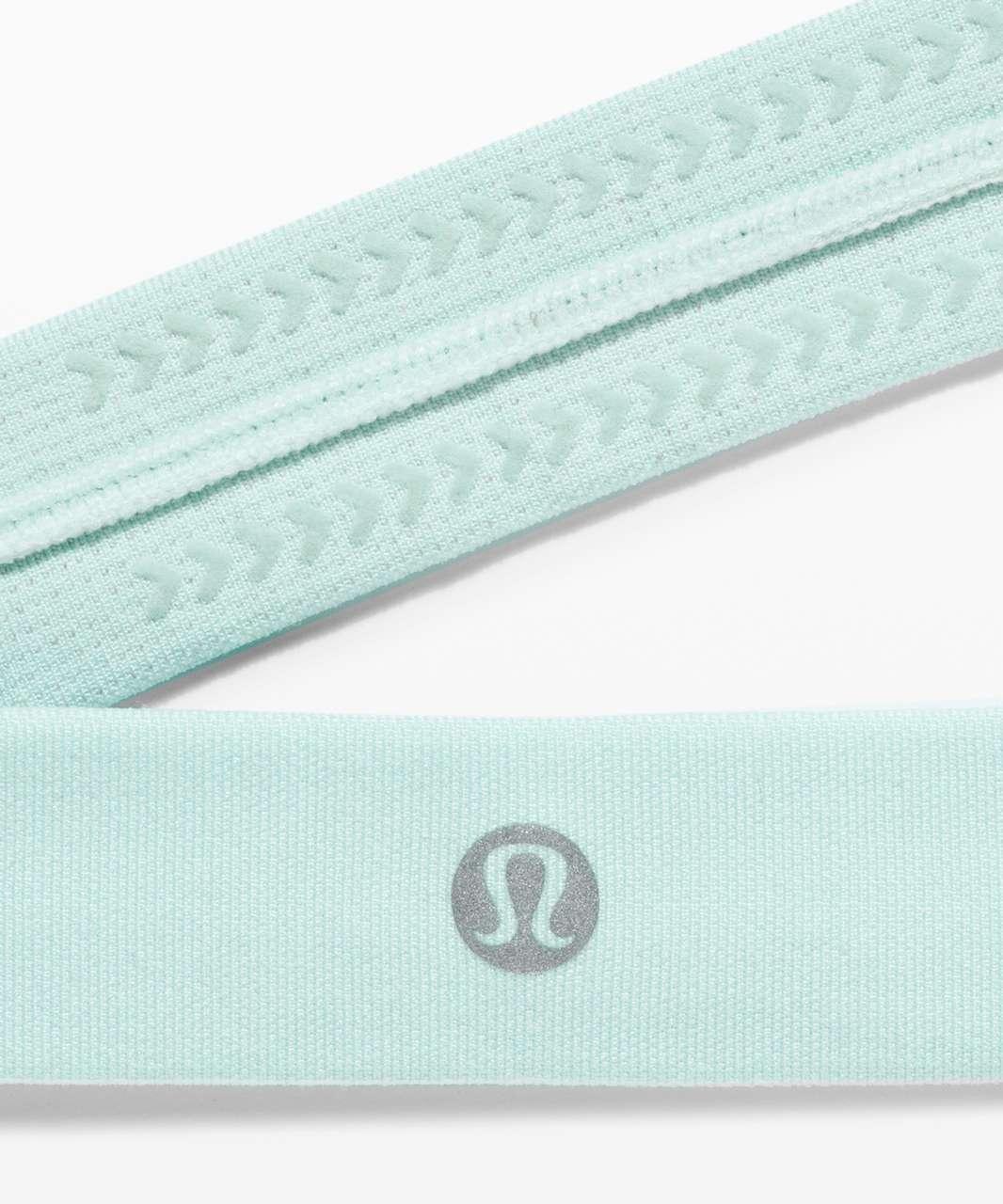 Lululemon Cardio Cross Trainer Headband - Blue Glow / White