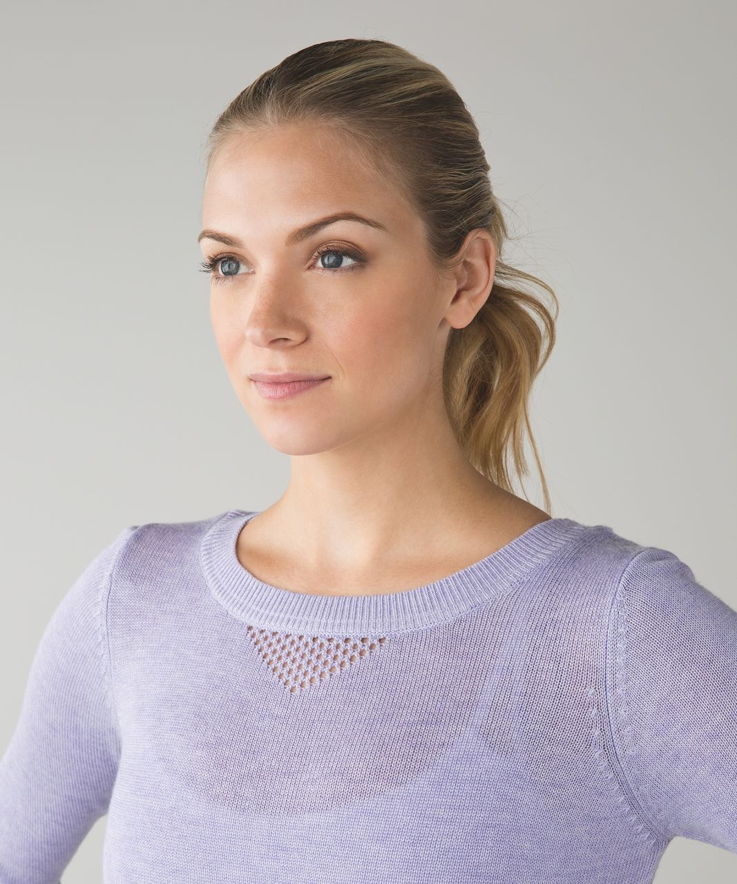Lululemon Sunset Savasana Pullover II - Heathered Lilac